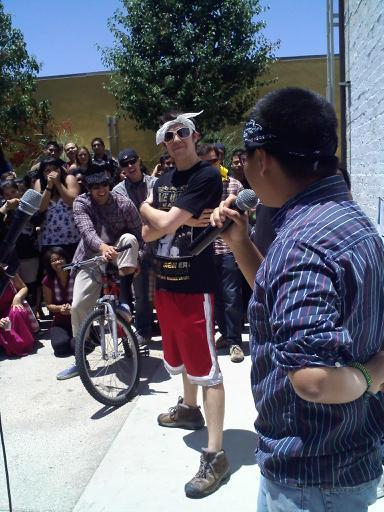 That was the year Flaco Suave joined the all-teacher rap crew at lunch.